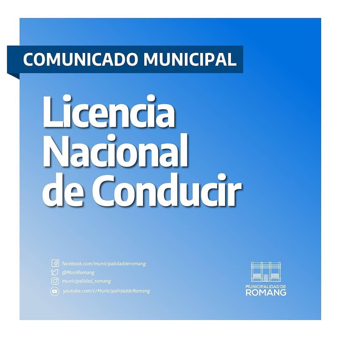 Romang: Licencia Nacional de Conducir