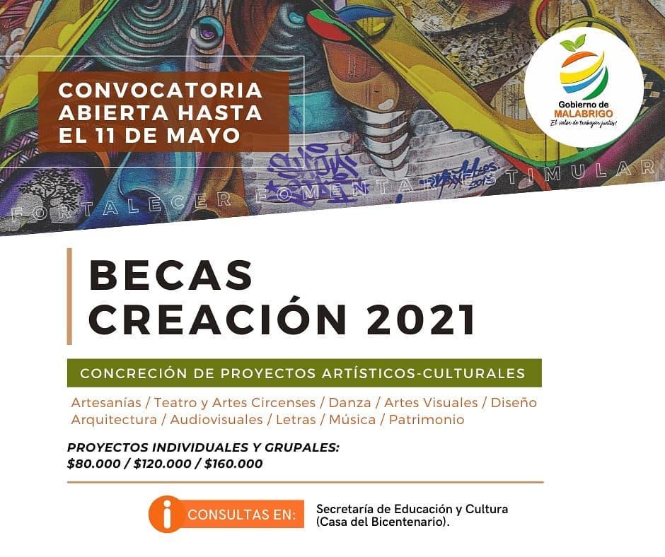 Malabrigo: Becas Creación 2021