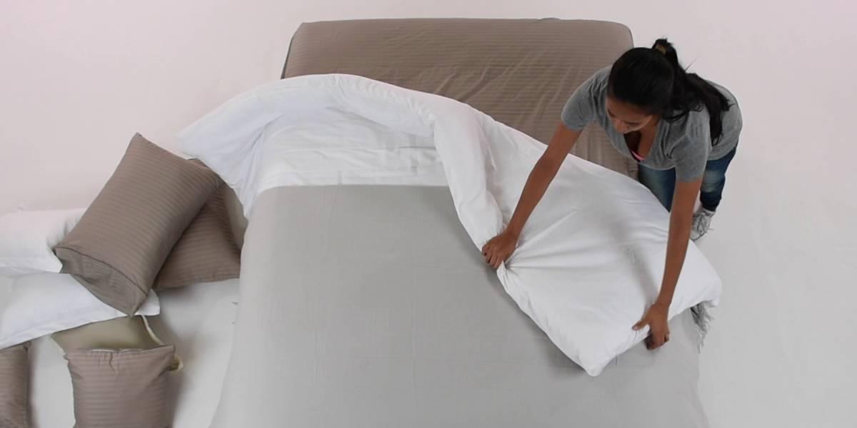 Los trucos infalibles para doblar las sábanas ajustable y queden perfectas