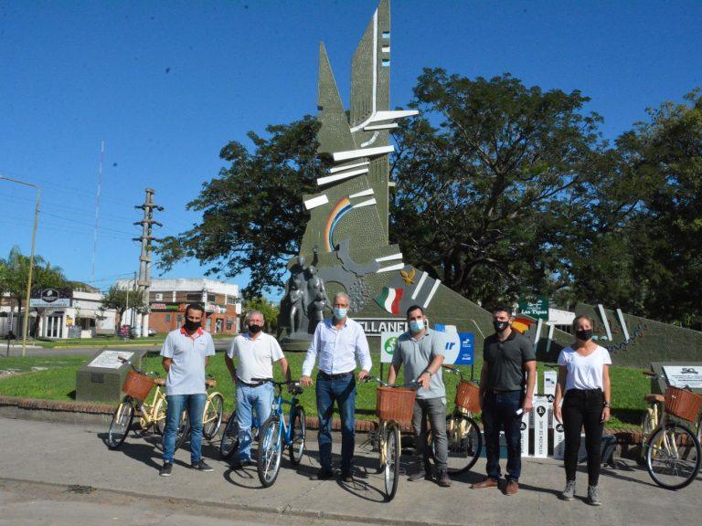 Avellaneda pone a disposición de los turistas, bicicletas para recorrer la ciudad