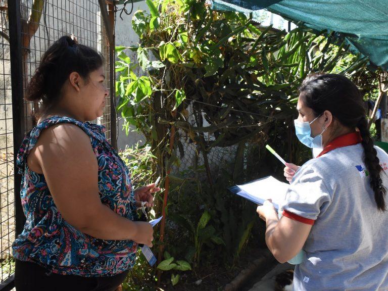 Dengue: continúan los operativos de información y descacharrado en Bº Martín Fierro