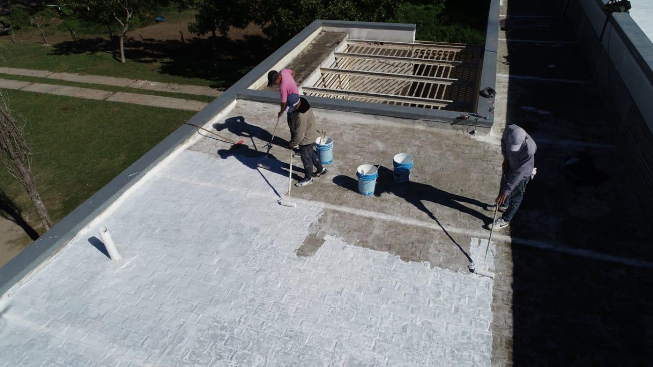 Romang: mantenimiento – reparación edilicia en el CAPS