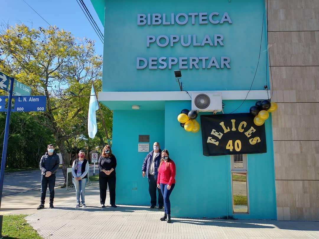 La Biblioteca Popular Despertar cumplió 40 años de vida institucional