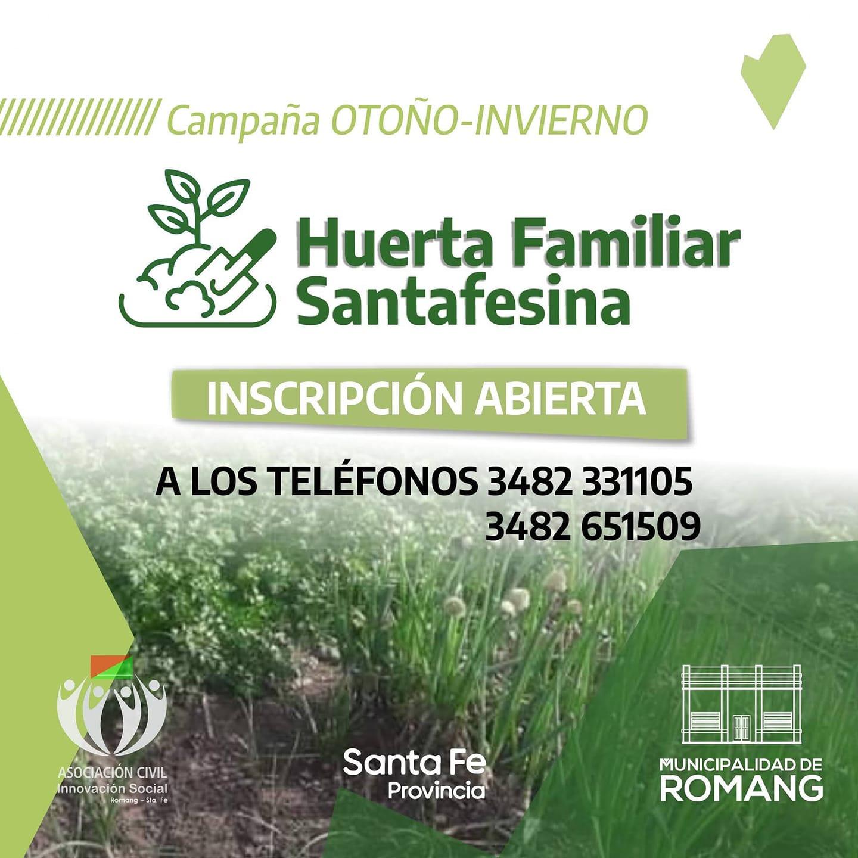 Kit de semillas del Programa Huerta Familiar Santafesina