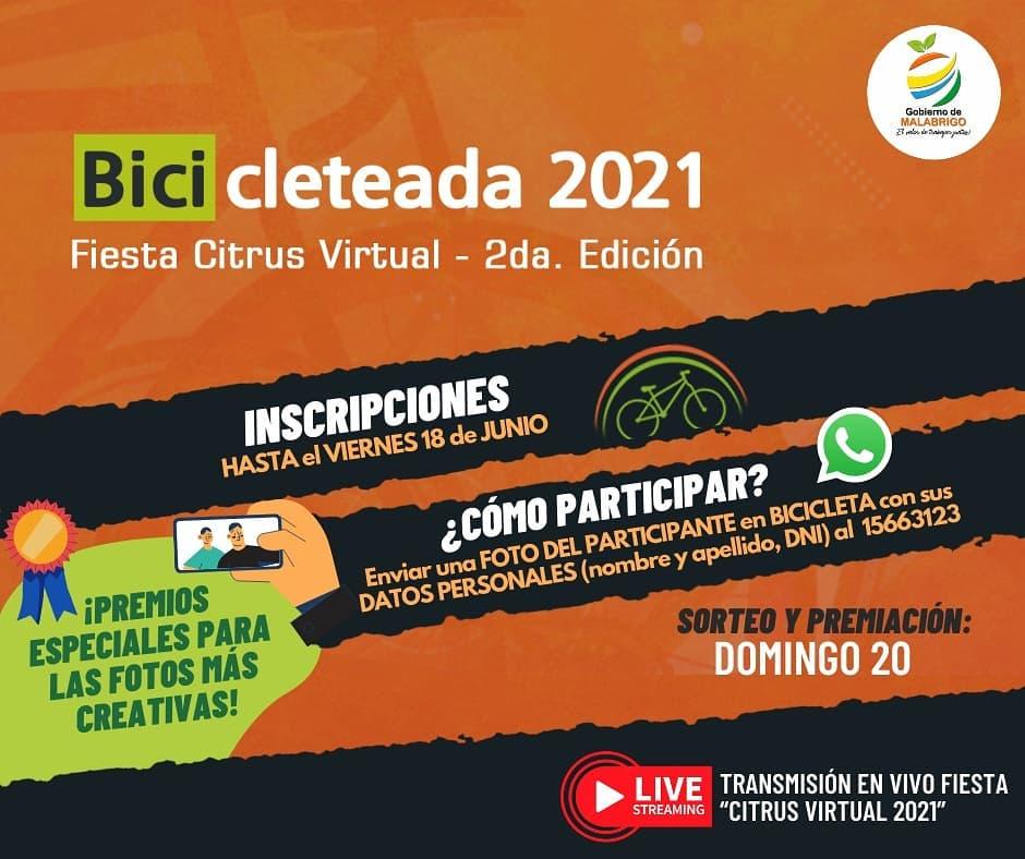 Malabrigo: Bicicleteada 2021