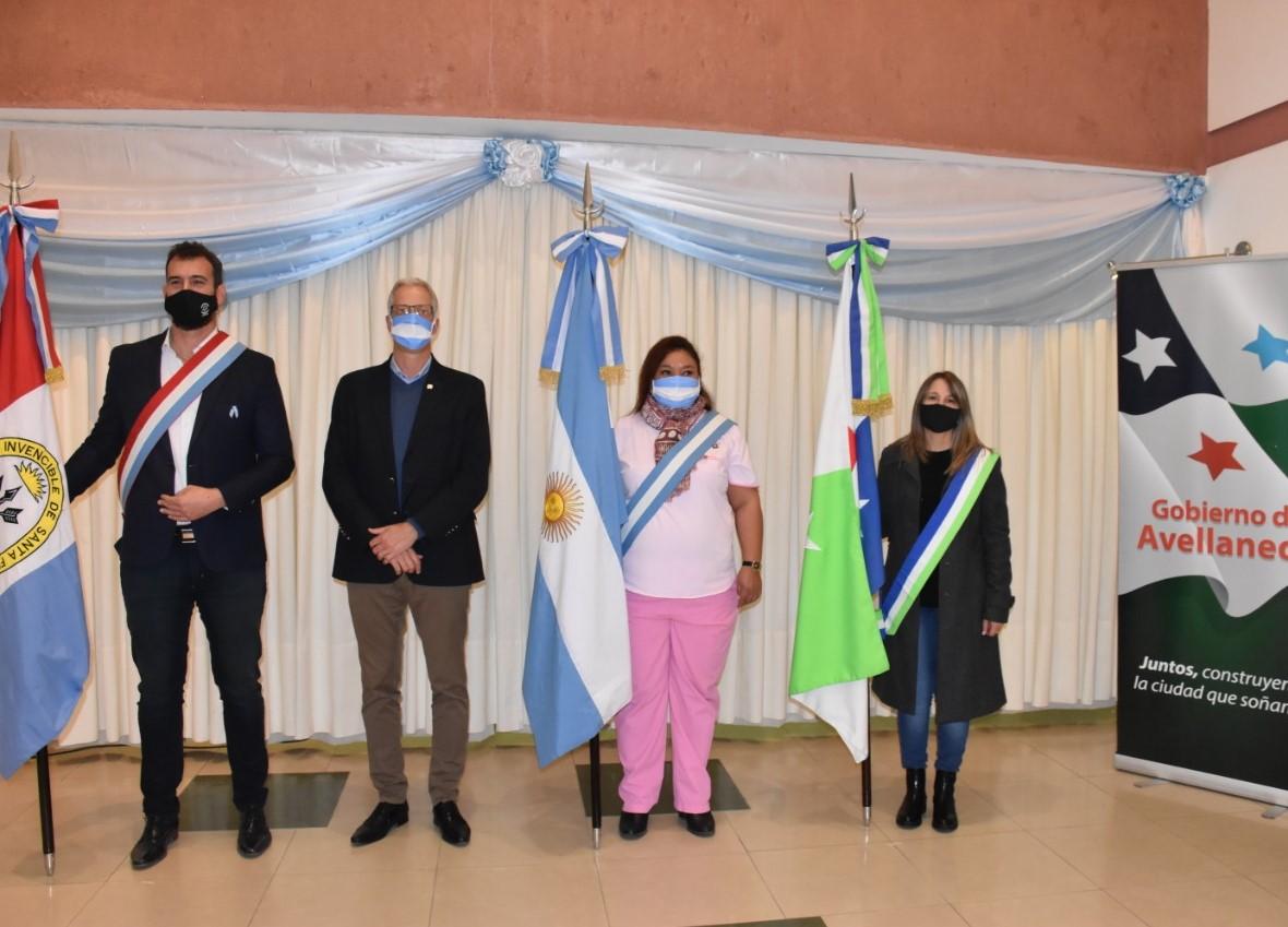 Avellaneda celebró el Día de la Bandera y su creador, con una fiesta patria virtual