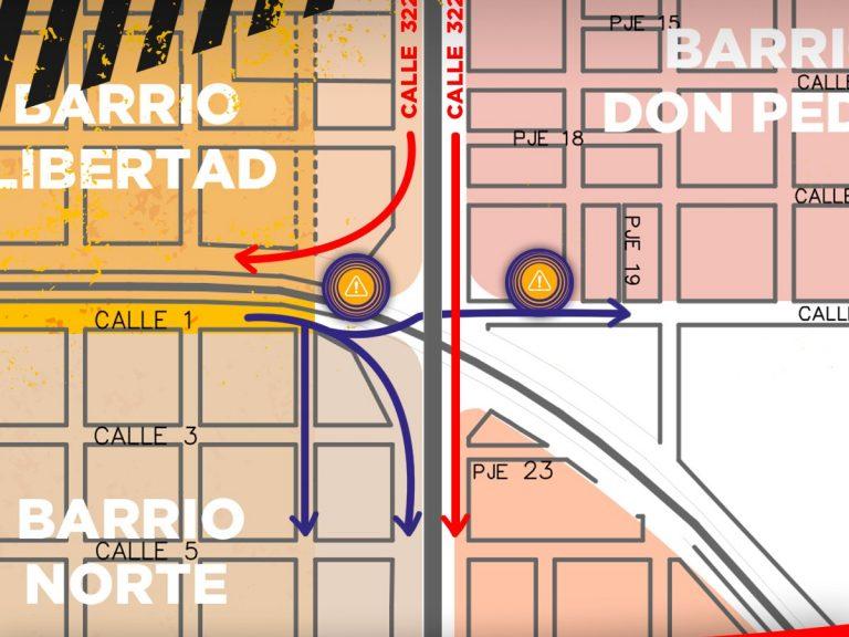 Plan de Bacheo 2021: se concretan tareas en calle 1 y 22