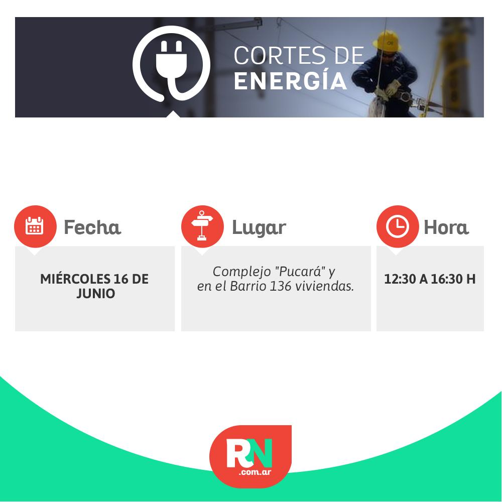 Corte de energía para un sector de Reconquista