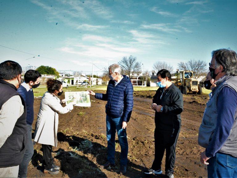 """B° Libertad: """"creamos nuevos espacios verdes para democratizar el acceso a la vida saludable"""", destacó Scarpin"""