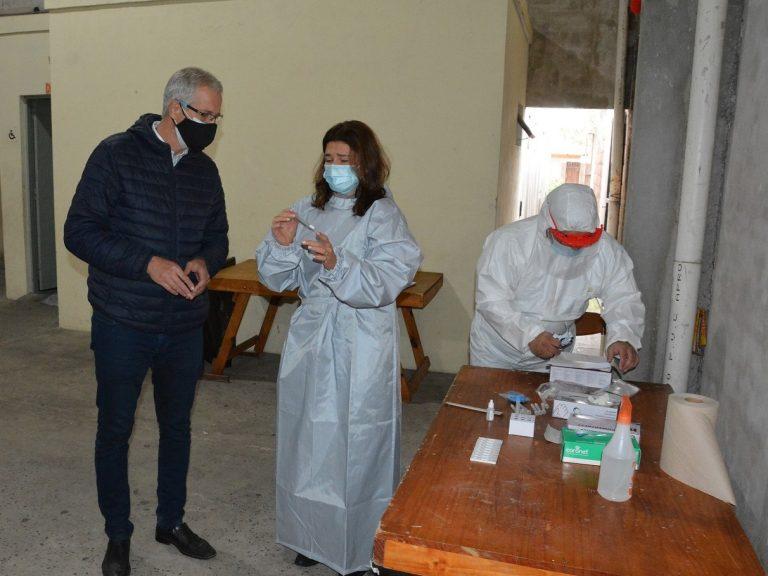 Operativos de testeos Covid en Avellaneda: una política sanitaria puesta en marcha para frenar la cadena de contagios
