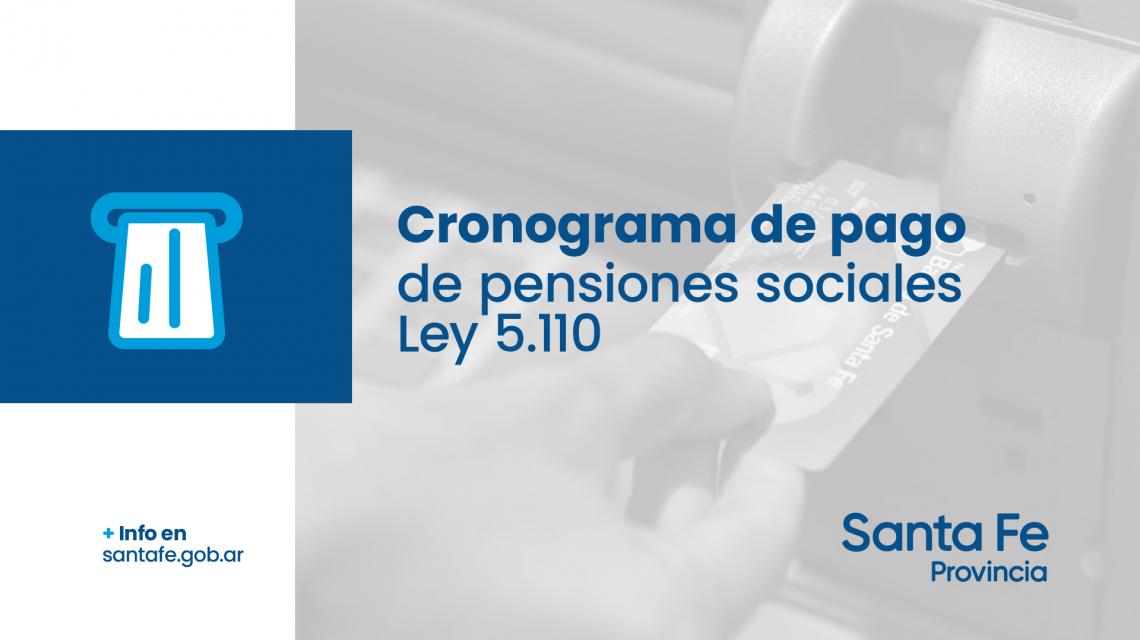 Cronograma de pago de las Pensiones Sociales
