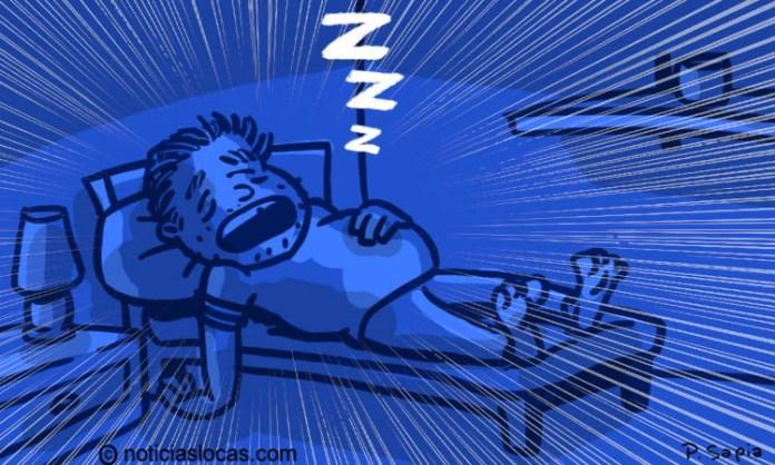 Una rara enfermedad hace que duerma 300 días al año