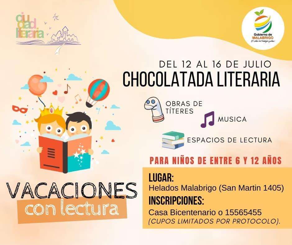 Malabrigo: Vacaciones con Lectura – Chocolatada Literaria