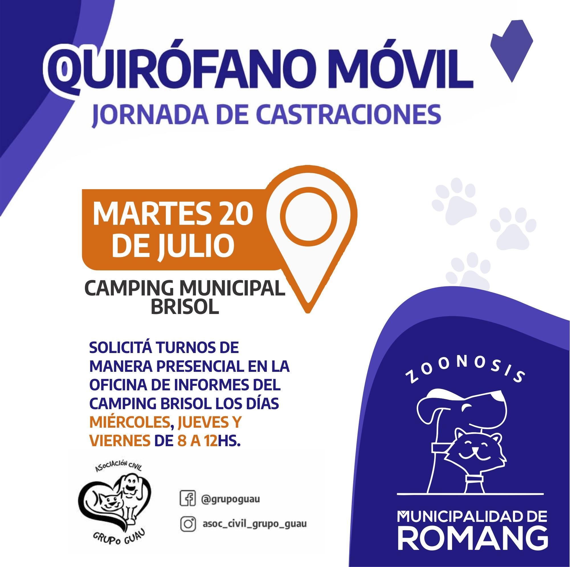 Romang: Quirófano Móvil