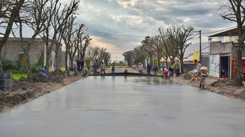 Malabrigo cuenta con una nueva cuadra de asfalto