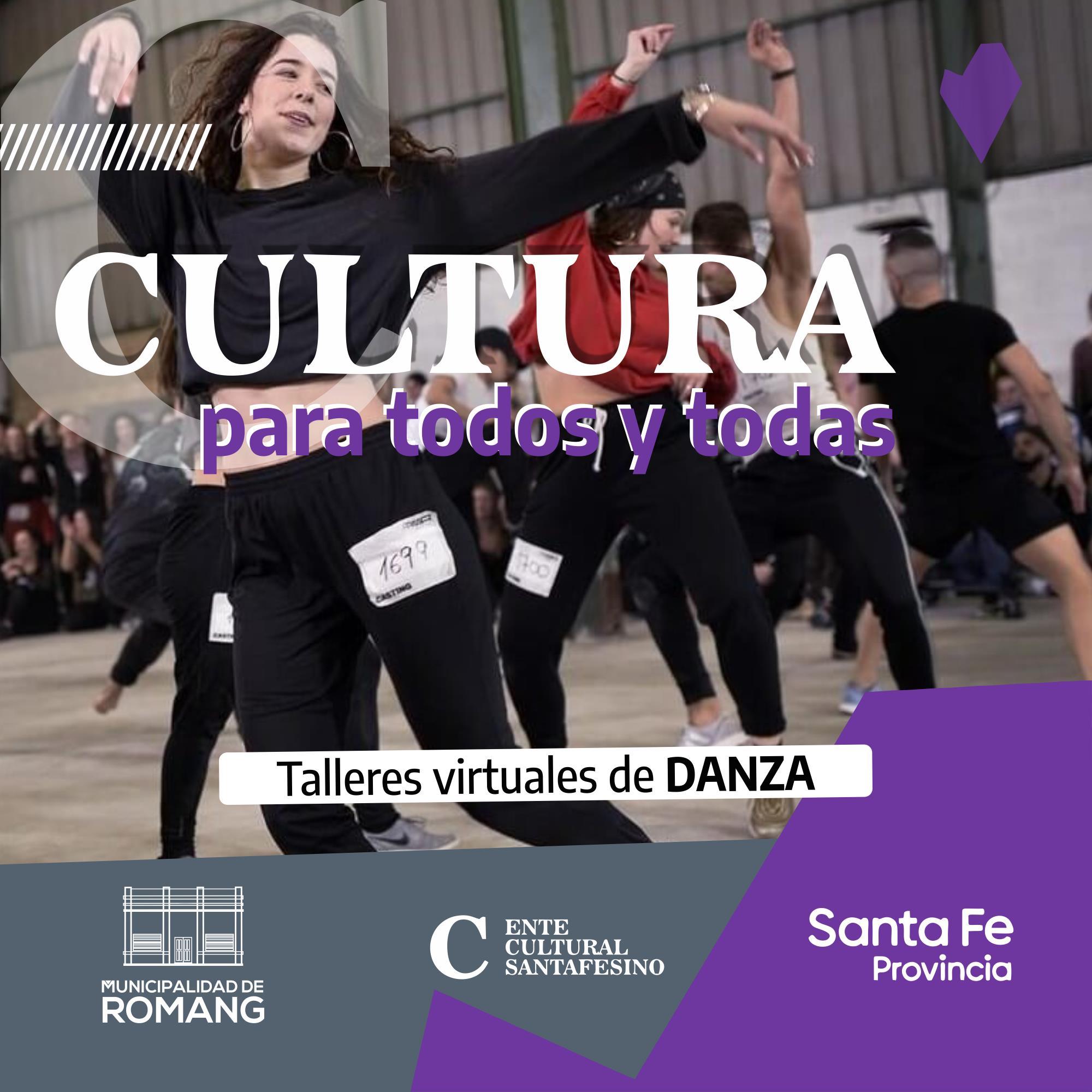 Romang: Talleres Virtuales de Danza