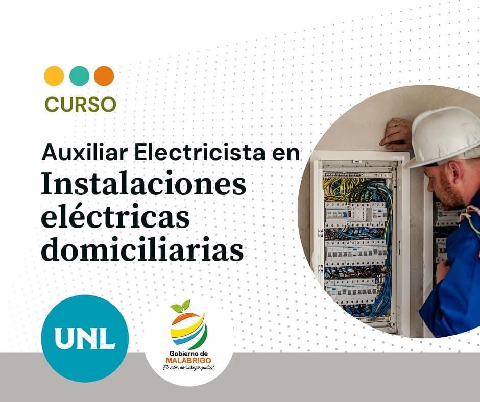 Malabrigo: ¿Querés aprender a hacer instalaciones eléctricas?