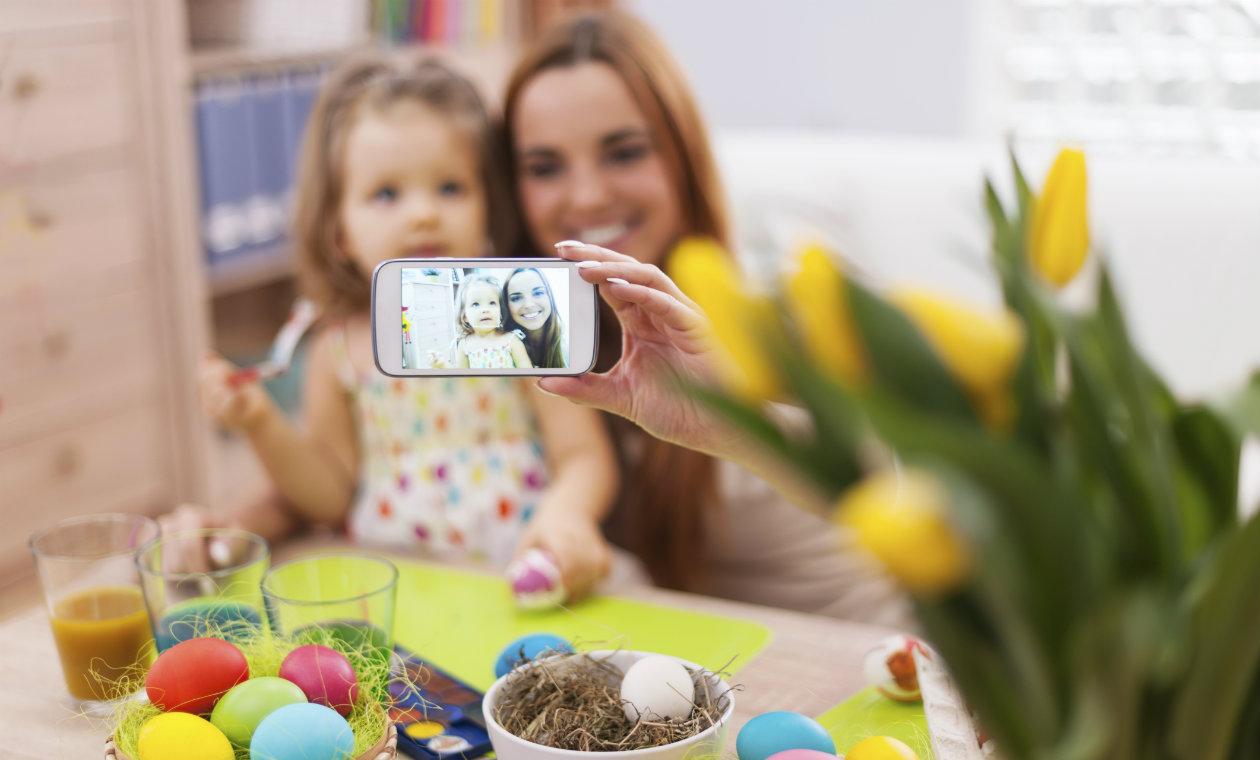 Fotos que nunca debería publicar de sus hijos en internet
