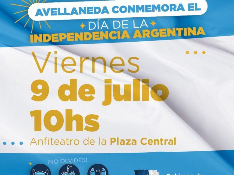 Avellaneda conmemorará el Día de la Independencia Argentina