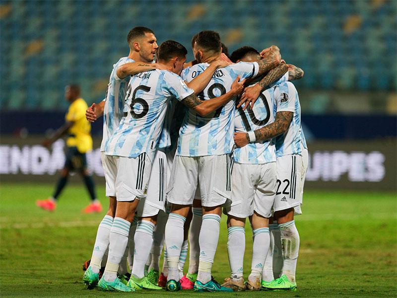 Argentina busca la final de la Copa América frente a Colombia